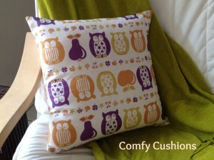 Owl Cushion 2